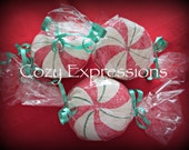 Peppermint Candy Bowl Fillers or Tucks