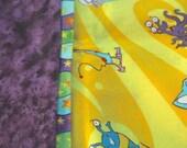 Monster Cotton Pillow Case Set - Standard Queen - Fun Boogie Monster Covers