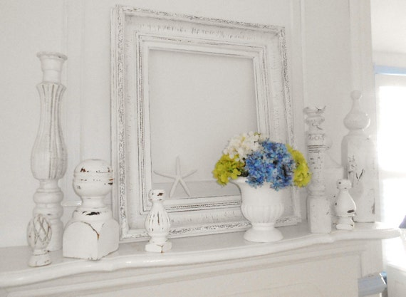 Frame shabby chic painted furniture vintage for art of mirror