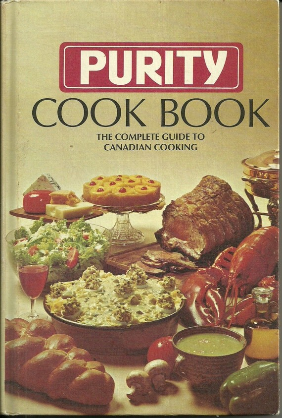 Hardcover Cookbook : Purity cook book cookbook maple leaf mills hardcover s