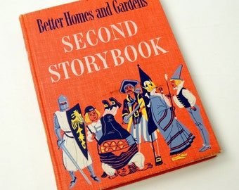 Better Homes and Gardens Second Storybook 1952 First Edition VGC / Vtg Children's Book of Favorite Stories and Poems of the World