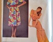 Vogue Paris Original 2719 Emanuel Ungaro Misses Dress Size 14 UNCUT