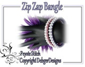 Zip Zap Bangle - Beading Pattern Tutorial