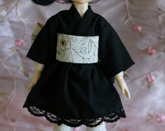 Gothic Wa Loli Lolita dress for Yosd BJD