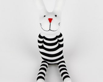 Christmas Gift New Year Gift Birthday Gift Handmade Sock Rabbit Bunny Stuffed Animal Doll Baby Toys easter gift