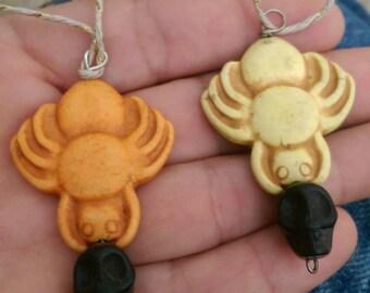 Spider & Skull necklaces
