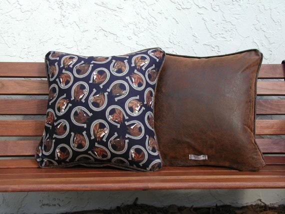 Decorative Throw Pillow Horse Pillows Equestrian by rrdesigns561