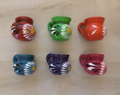 25 Mini Party Favor Mexican Pottery Mug Tequila Shot Glass