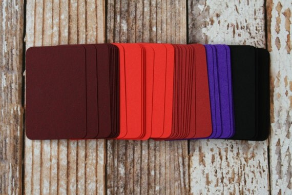 50pc WINTER Colours Lakeland Series Business Card Blanks