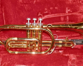 King Cornet brass model #602 vintage