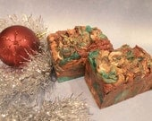 Ugly Christmas Soap, Santa Spruce Handmilled Soap