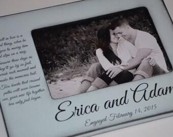 engagement engagement gift engagement personalized frame personalized engagement frame - Engagement Photo Frames