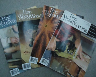 Vintage 1995 Fine WoodWorking Magazines