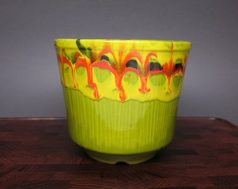 Colorful Mid Century Planter -  California, U.S.A.