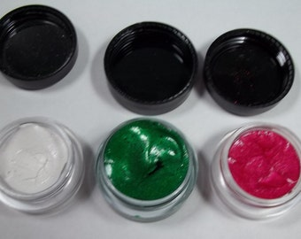 Three cakes ofTwinkling H2O Watercolor Paints  Mini Pots 5 gram