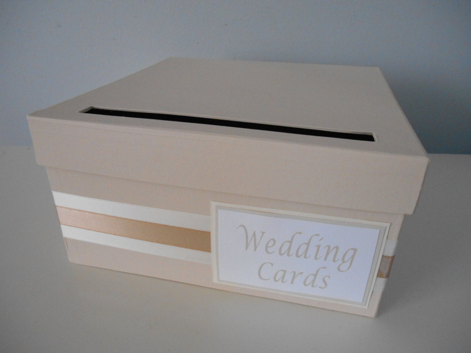 Wedding Shower Gift Card Box : Modern Wedding Card Box Bridal Shower Card Box Reception Card