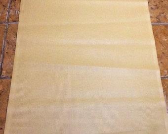 PANEL23.  Tan Embossed Leather Cowhide Panel