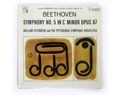 "SALE! Charles Murphy record album design, 1965. ""Beethoven Symphony No. 5"" LP"