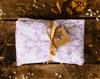 Organic Lavender and Flax Seed Neck Pillow