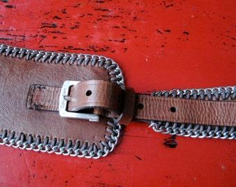 Vintage Calvin Klein Leather Belt