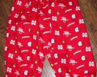 Nebraska Huskers wild and crazy golf pants new custom made