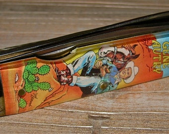 Vintage GENE AUTRY and The Riders of the Silver Screen Camillus Novelty Pocket Knife