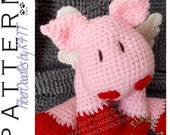 INSTANT DOWNLOAD : KISS Series - CuPig Crochet Pattern