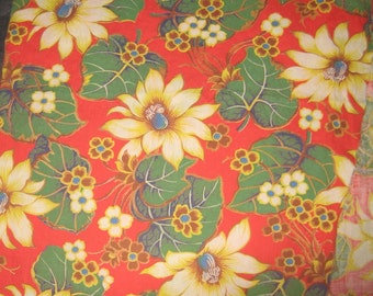 Make What Ever 1 Plus Yards  Cotton Fabric Tropical chic