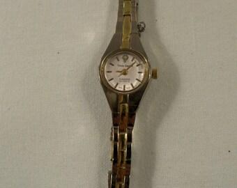 Sophisticated Times Square Diamond Quartz Ladies Watch by Fada Industries