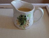 Frog Gift Beeswax Candle
