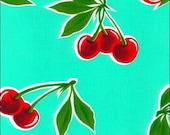 Cherries Oil Cloth 1 Yard Oilcloth