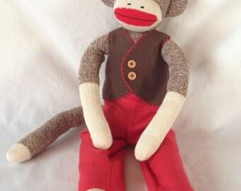 Anatomically Correct Boy Sock Monkey