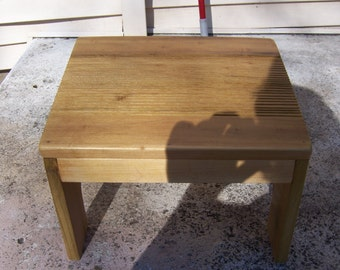 Handmade wooden Nursing stool