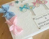 Baby Twins Girl and Boy Memory Book