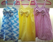 Baby girl dress bright colors