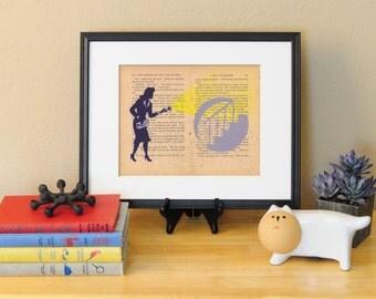 Nancy Drew LitKids Print, Flawed