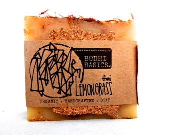 Thai Lemongrass Organic Soap - Natural Skin Care