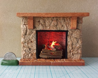 popular items for stone fireplace on etsy. Black Bedroom Furniture Sets. Home Design Ideas