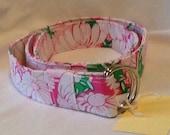 "Vintage handmade Belt of Lilly Pulitzer Fabric - 43.5"" hot pink Daisy print"