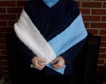 Snow and Ice Thick Scarf