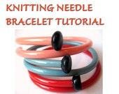 DIY Vintage Knitting Needle Bracelets Tutorial SewNewThings Pdf Digital Files INSTANT DOWNLOAD Make your own upcycled knitter's gifts