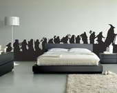 The Hobbit long walk decal/wall graphic