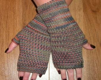 Fingerless gloves, wrist warmers