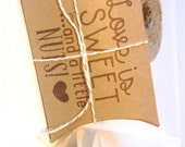 Reserved // Cute Bridal Shower Favors...Love is Sweet, and a little NUTS. Set of 25. BOXES ONLY