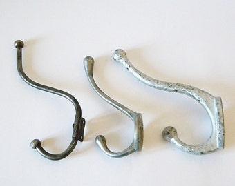 vintage hooks 3 coat hooks