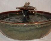 "Cat Water Fountain - Pet Fountain -  Indoor Fountain, Foodsafe  - 11.75 Inch Diameter - ""Truffle"""