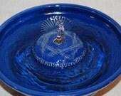 """Cat Fountain - Pet Fountain - Indoor Fountain - 10 Inch Diameter """"Crosshatch II"""""""