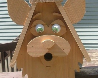 Funky Rabbit Bird House