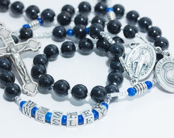 Law Enforcement Rosary for Police Officer or Sheriff