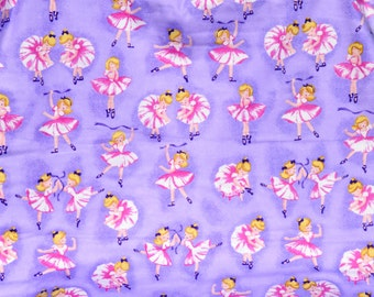 Ballerina print Flannel pants pajama dorm lounge made to order your choice size XS - 2X